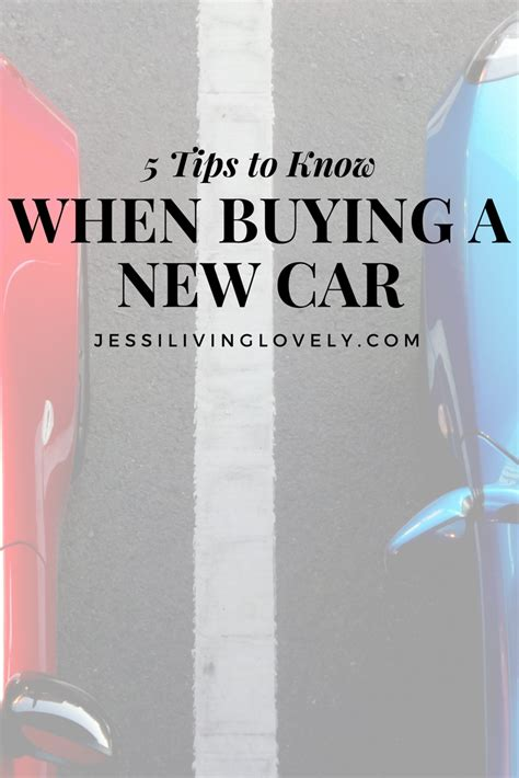 10 Tips On Buying A New Car by Buying A New Car Read These 5 Tips Living