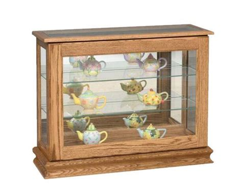 curio cabinets small collectibles amish small curio cabinet cabinets matttroy