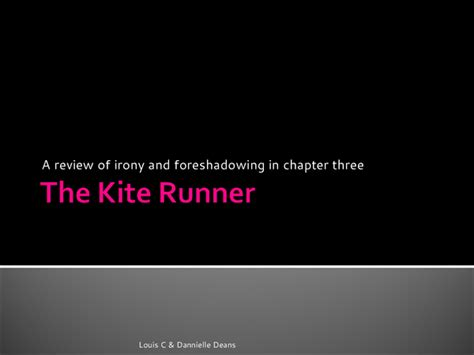 the kite runner chapter themes the irony of life is not that you ca by gertrude atherton