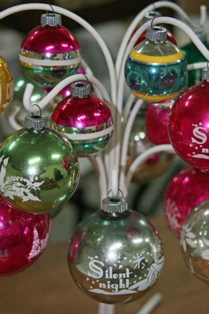 shiny bright christmas ideas mamie s shiny brite ornament tree holidays ornaments displayed other than on