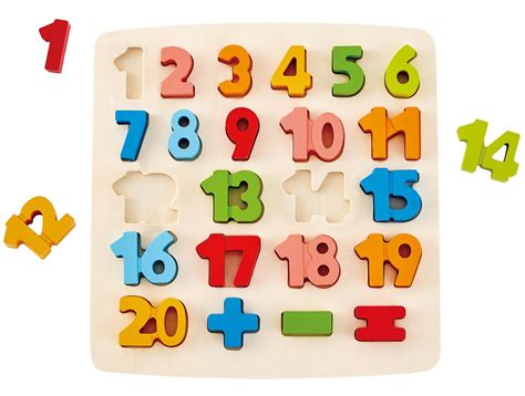 Chunky Puzzle Numbers Puzzle Chunky Angka odyssey toys hape chunky number puzzle 10 multicolor 5 x 2 toys