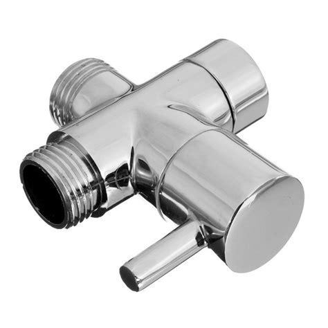 Shower Water Diverter by Bathroom Angle Valve For Shower Water Separator Shower Diverter Toilet G1 2 Ebay