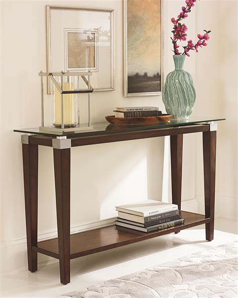 sofa table ideas decor glass sofa table for a great living room decor ideas