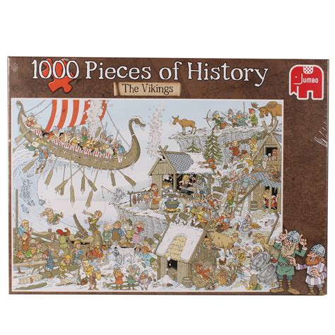 Best Terlaris Puzzle Jigsaw From Tomorrow 100 Pcs Sni pieces of history vikings jigsaw puzzle puzzlewarehouse