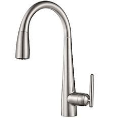 moen ca87559bl solidad single handle pull down kitchen moen cas665 modern two handle swinging high arc kitchen