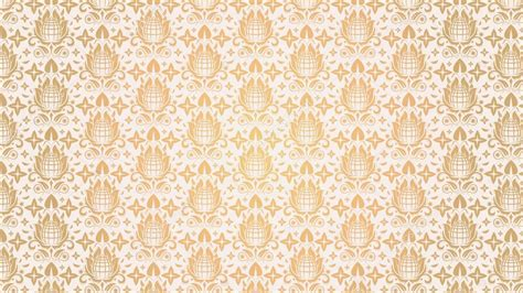 pattern white and gold white gold seamless floral pattern elegant color 1080p