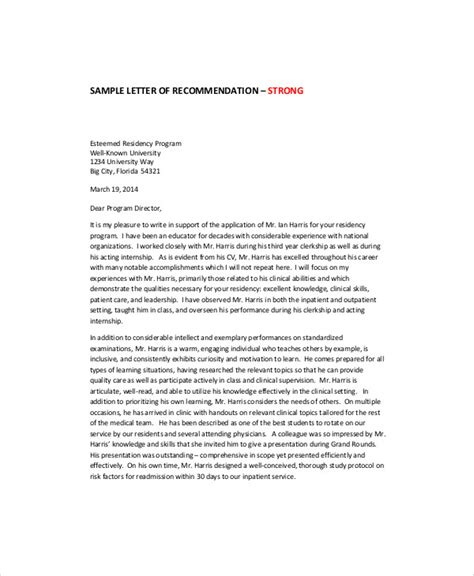 Recommendation Letter Format For A Coworker Sle Letter Of Recommendation For Coworker 5 Exles In Word Pdf