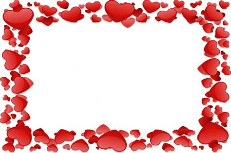 cornici a cuore per foto biglietti di san valentino fai da te foto 18 40 tempo