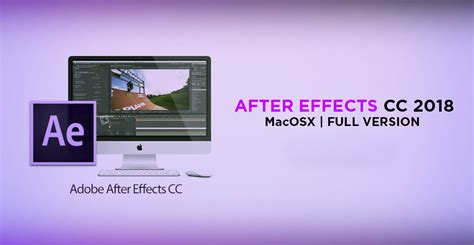Adobe After Effect Cc 2018 64 Bit Version adobe after effect cc 2018 187 software pc free