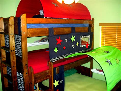 Bunk Bed With Tent Create A Lot Bunk Bed Tents