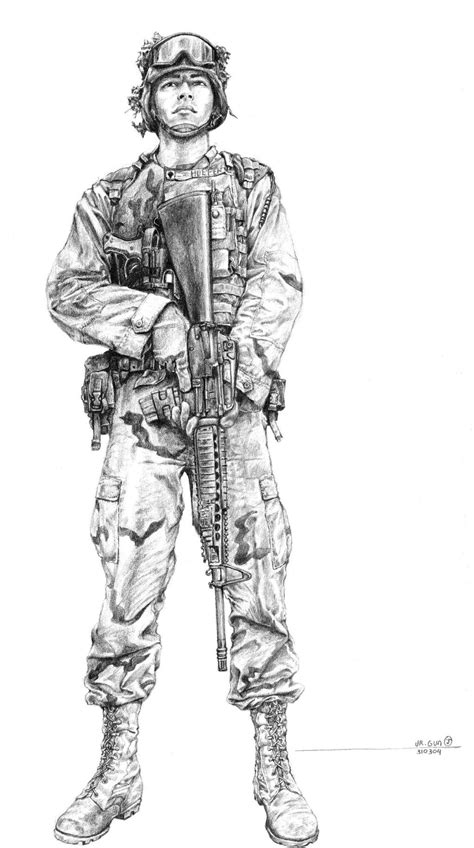 army soldier  hermesdeviantartcom