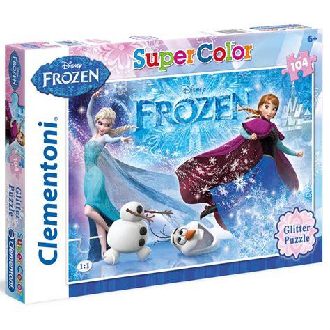 Best Terlaris Puzzle Jigsaw Frozen 100 Pcs Sni frozen glitter 104 puzzle craftyarts co uk