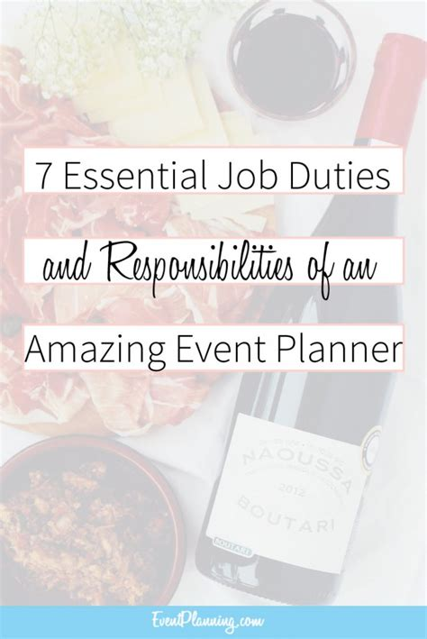 Wedding Budget Responsibilities by Event Planning Description And Responsibilities