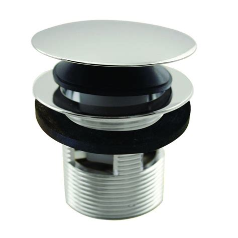 bathtub overflow drain westbrass 1 1 2 in npsm integrated overflow round tip toe