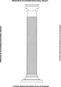 column drawing crispin technical drawing corinthian column
