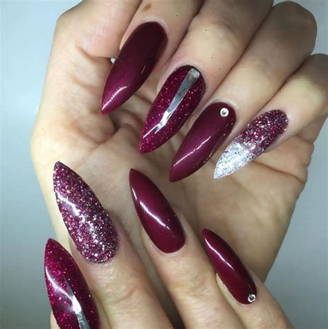X Pert Hair Colour Spray Glitter Burgundy 25 best ideas about maroon nails on autumn nails fall nail colors and burgundy
