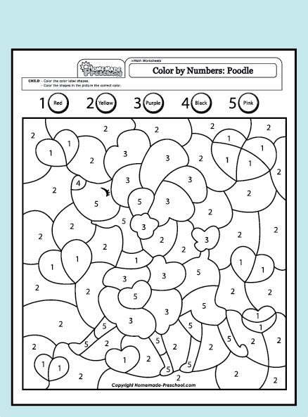 coloring pages by numbers pdf coloring pages color the numbers from 1 to 5 images