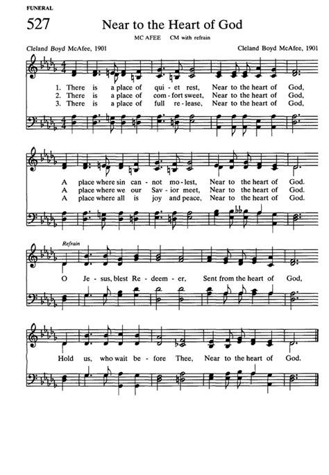 A Place Hymnal Presbyterian Hymnal Hymns Psalms And Spiritual Songs 527 There Is A Place Of Rest