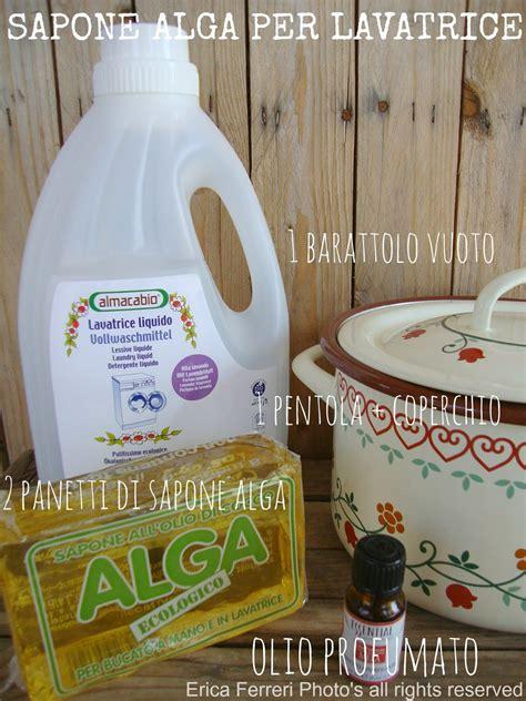 sapone lavatrice fatto in casa casa e donna sapone liquido da panetto alga per