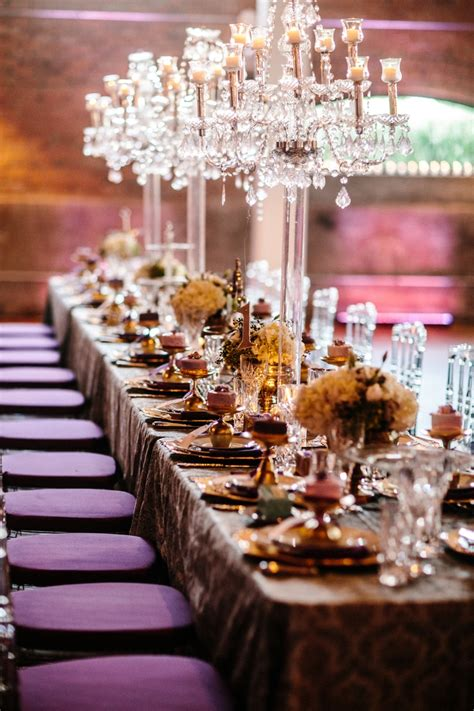 purple and gold table decorations purple and gold wedding table decorations pixshark