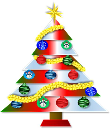 stickers etoile 2556 free illustration merry tree decorations