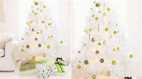 decorar un 225 rbol de navidad blanco sala
