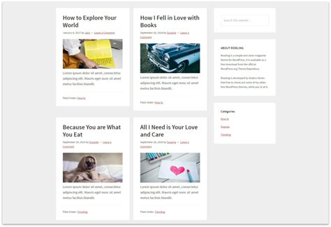 grid layout demo how to display your genesis blog in grid layout league wp