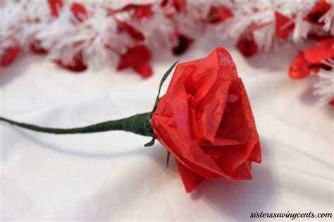 Roses Out Of Tissue Paper - diy tissue paper roses