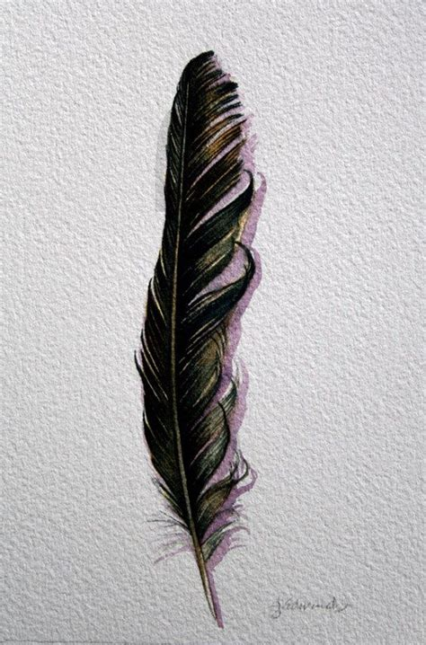 raven feather tattoo 15 best ideas about feather on black