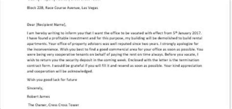 Office Lease Agreement Termination Letter Letter Announcing An Increase In The Monthly Rent Writeletter2