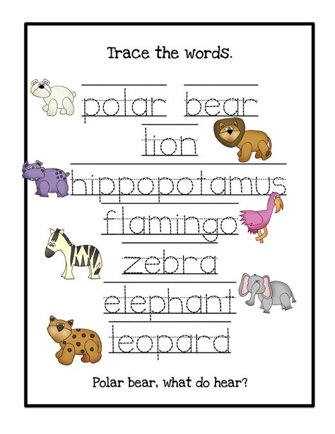 preschool workbooks word tracing animal alphabet word tracing workbook books march 2013 preschool printables