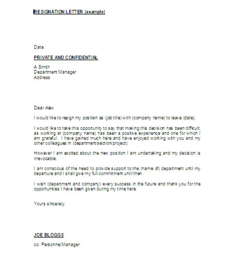 Resignation Letter New Position Best Photos Of Resignation Due To New Resignation Letter From Resignation Letter