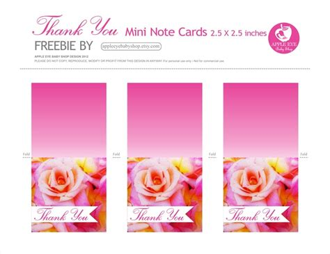printable mini thank you cards pin by tamika gardner on free graphics and fonts pinterest