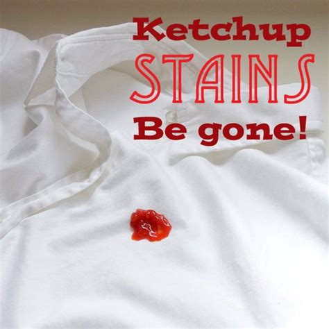 how to remove ketchup stains stains boys and ketchup