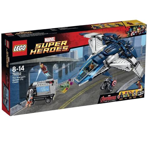 Lego Ori The Quinjet City new summer lego marvel set images and minifigures posted