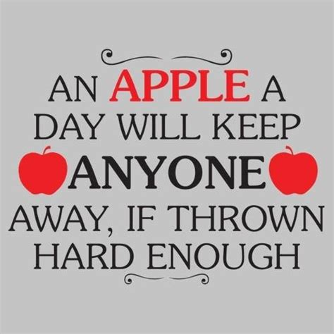 apple quotes an apple a day will keep