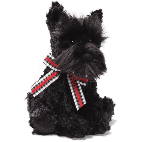 scottie dogs new plush soft gund black hair scottie scotty 20cm ebay
