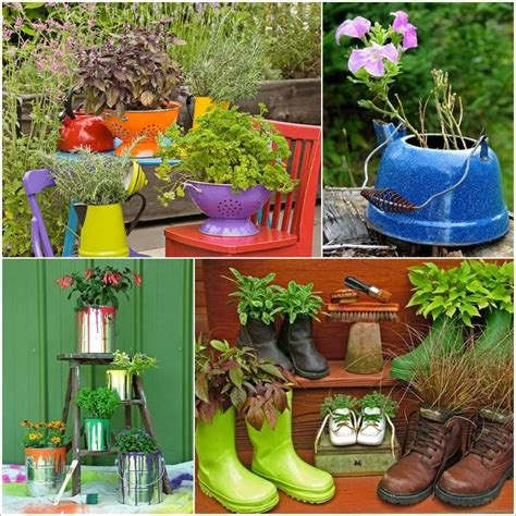 Creative Planter Ideas by 15 Creative Recycled Planter Ideas For Your Garden