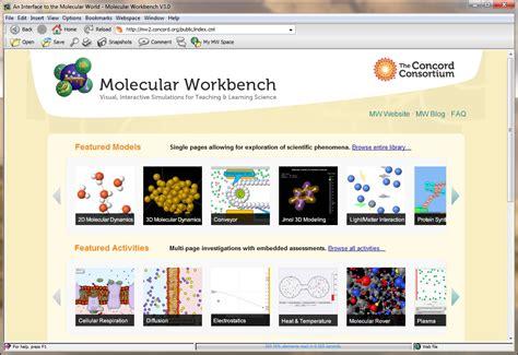 engineering computation laboratory molecular workbench