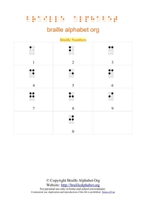 printable braille alphabet flash cards braille alphabet chart for kids pdf s flash cards