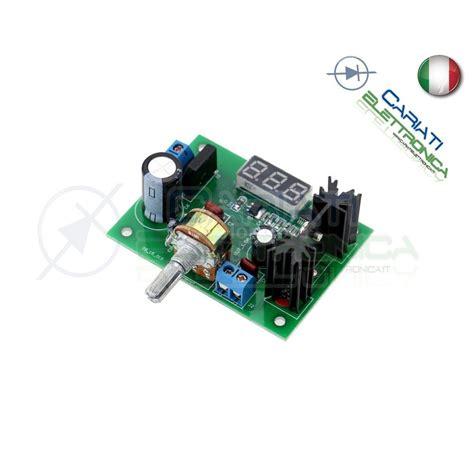 alimentatore lm317 regolatore stabilizzatore alimentatore convertitore dc dc