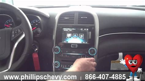 phillips chevrolet  chevy malibu interior features