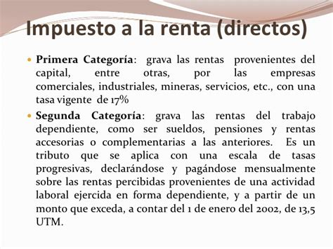 Escala De Impuesto A La Renta 4ta Categoria 2016 | escala de impuesto a la renta 4ta categoria 2016