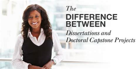 Difference Between Mba And Ms In Healthcare Administration by The Difference Between Dissertations And Doctoral Capstone