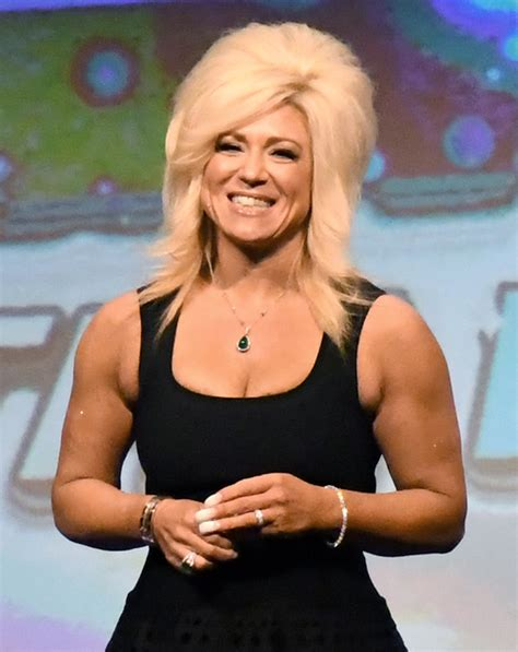 theresa caputo young review long island medium theresa caputo connects crowd