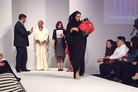 fashion design qatar vcuqatar fashion student wins design competition with