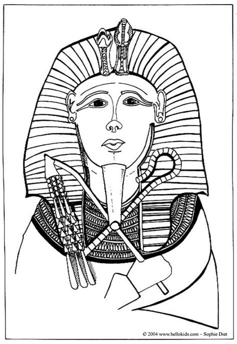 Egypt Pharaoh Coloring Coloring Pages Pharaoh Coloring Pages