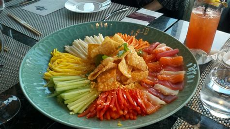 new year fish yu sheng mohan ismail mr bluesky