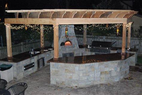 outdoor kitchen grill insert outdoor bbq kitchens cabana pergolas patio