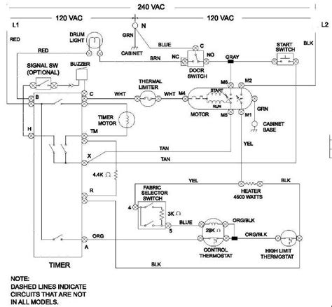 electric clothes dryer wiring diagram wiring diagram schemes